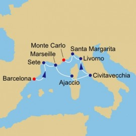 Spain and France and Tuscany Itinerary