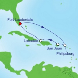 Eastern Caribbean Itinerary