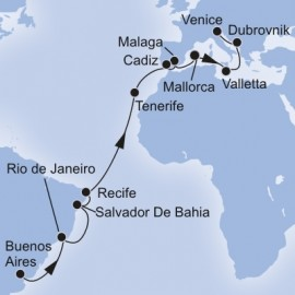 Grand Voyages Itinerary
