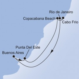 South America MSC Cruises Cruise