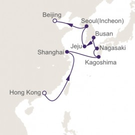 Hong Kong to Beijing World Sector Itinerary