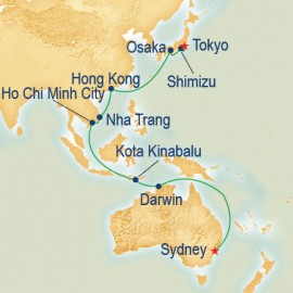 Asia and Australia Princess Cruises Cruise