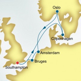 Norway and the Netherlands P&O Cruises UK Cruise