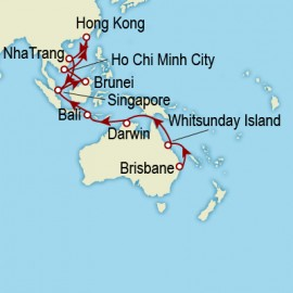 Brisbane to Singapore World Sector