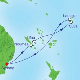 South Pacific and Fiji Holiday Itinerary
