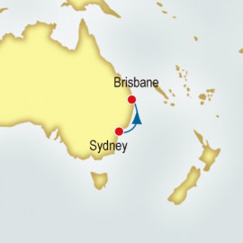 Sydney to Brisbane World Sector Cruise
