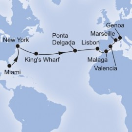 Grand Voyage MSC Cruises Cruise