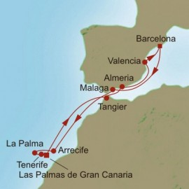 Spotlight On Spain Itinerary