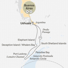 Antarctica in Depth Itinerary