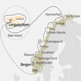 Ultimate Arctic and Fjords Itinerary