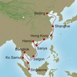 Empires and Dynasties Oceania Cruises Cruise