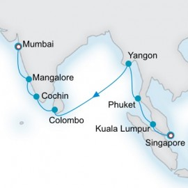 Across the Bay of Bengal Itinerary