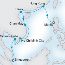 Far East Vistas Crystal Cruises Cruise