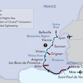 Arles to Lyon Luxury River Itinerary