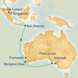 South Australia and Southeast Asia Princess Cruises Cruise