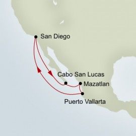 Mexican Riviera Holiday Holland America Line Cruise