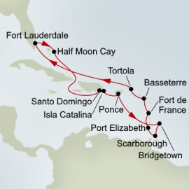 Caribbean Holiday Holland America Line Cruise