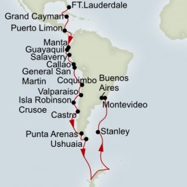 Grand South America and Antarctica Voyage Holland America Line Cruise