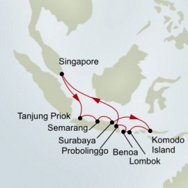 Indonesian Discovery Holland America Line Cruise