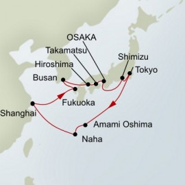 China and Japan Holland America Line Cruise