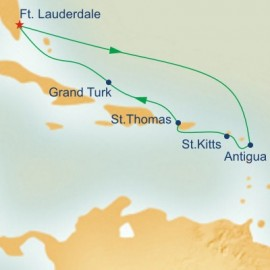 Eastern Caribbean Explorer Princess Cruises Cruise