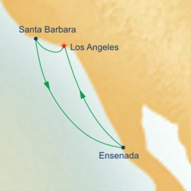 West Coast Getaway With Santa Barbara Princess Cruises Cruise