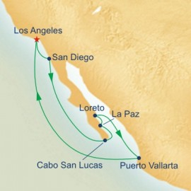 Baja Peninsula and Sea Of Cortez Itinerary