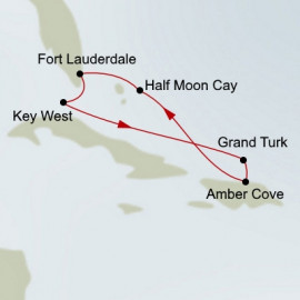 Tropical Caribbean Itinerary