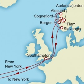 Grand Norwegian Explorer Itinerary