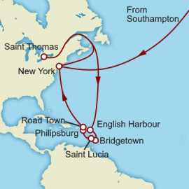 The Caribbean Cunard Cruise