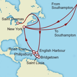 The Caribbean Itinerary