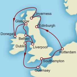 British Isles Cunard Cruise