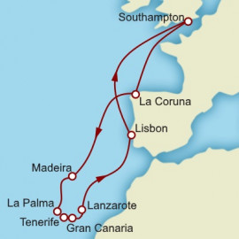 Canary Islands Discovery Cunard Cruise