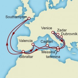 Venice and the Adriatic Cunard Cruise
