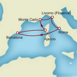 Barcelona and Monte Carlo Cunard Cruise