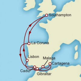 Iberian Adventure Cunard Cruise