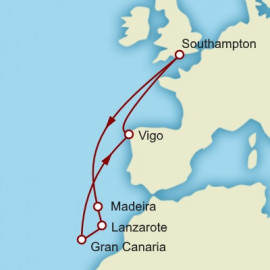 The Canary Islands Cunard Cruise