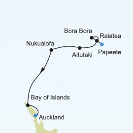South Pacific Islands Itinerary