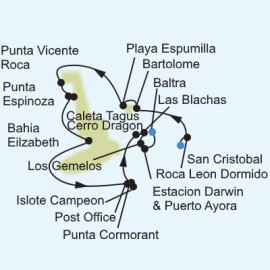 Galapagos Islands Expedition Itinerary