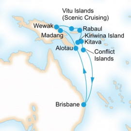 Ultimate New Guinea Islands P&O Cruises Cruise