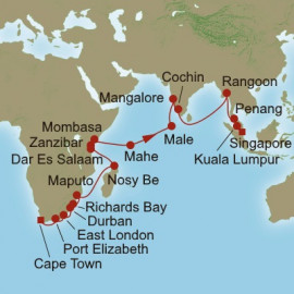 Indian Ocean Exploration Itinerary