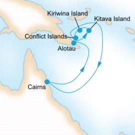 New Guinea Island Encounter Itinerary