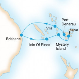 Fiji Adventure P&O Cruises Cruise
