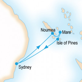 South Pacific Itinerary
