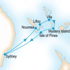 Pacific Islands P&O Cruises Cruise