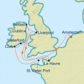 British Isles and French Open Celebrity Cruises Cruise