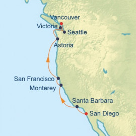 Pacific Northwest Celebrity Cruises Cruise