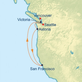 Pacific Coastal Itinerary