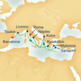 Grand Mediterranean Princess Cruises Cruise