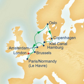 European Capitals Itinerary